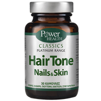 POWER HEALTH CLASSICS PLATINUM RANGE HAIR TONE SKIN & NAILS 30CAPS