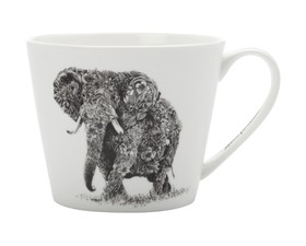Maxwell & Williams Κούπα Bone China African Elephant Marini Ferlazzo 450ml