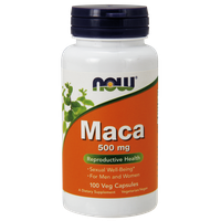 NOW MACA 500 MG, 100 VEG. CAPS