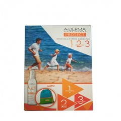 A-Derma Protect Kids Spray Enfant Tres Haute Protection SPF50+ 200ml & Δώρο Παιδική Τσάντα