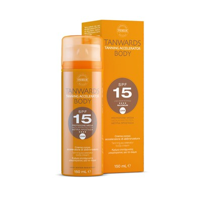Synchroline - Tanwards Body Tanning Accelerator Cream SPF15 - 150ml