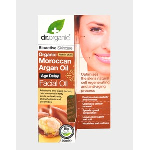 Dr organic moroccan argan facial oil 30ml