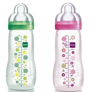 Mam baby bottle 4m  girl