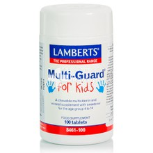 Lamberts MULTI GUARD For KIDS - Πολυβιταμίνη, 100tabs