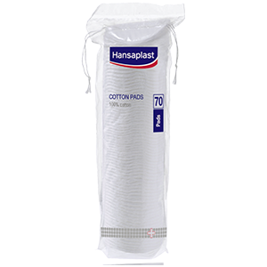 Hansaplast cotton pads