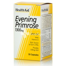 Health Aid EVENING PRIMROSE OIL 1300mg - Εμμηνόπαυση, 30tabs