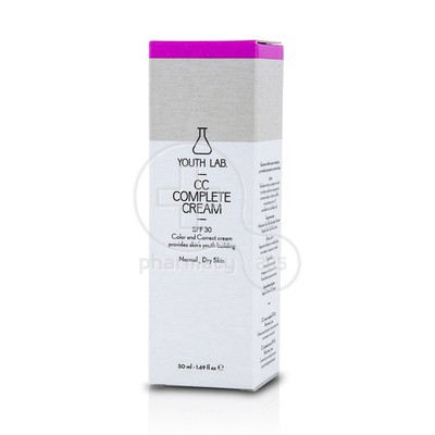 YOUTH LAB - CC Complete Cream SPF30 - 50ml PN/PS