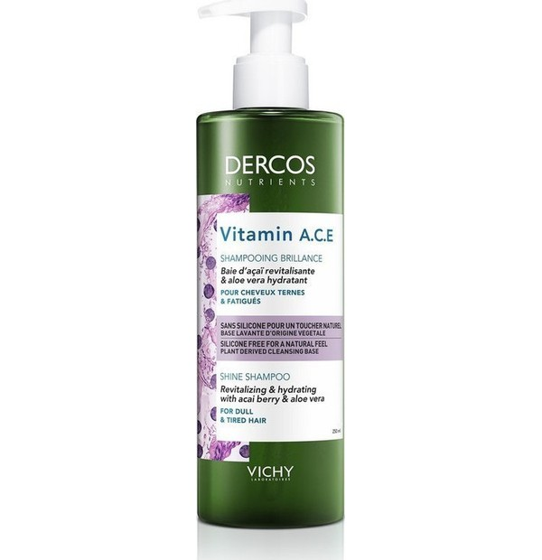 VICHY DERCOS NUTRIENTS SHAMPOO VITAMIN 250ML