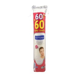 SEPTONA ΔΙΣΚΟΙ ΝΤΕΜΑΚΙΓΙΑΖ DAILY CLEAN 60 + 60 ΤΜΧ ΔΩΡΟ