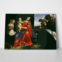 Titian madonna and child with sts catherine and dominic and a donor3