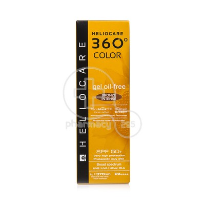 HELIOCARE - 360 Color Gel Oil-Free Bronze Intense SPF50+ - 50ml