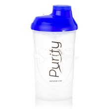 QNT Shaker Purity - Μπλε, 600ml