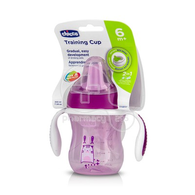 CHICCO - Training Cup 6m+ (Μωβ) - 200ml