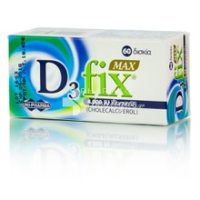 Uni-Pharma D3 FIX Max 4.000IU - Βιταμίνη D3, 60tabs