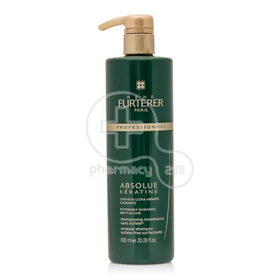 RENE FURTERER - ABSOLUE KERATINE Renewal Shampoo - 600ml