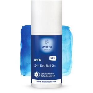 WELEDA Men deo roll-on 24h με αίσθηση φρεσκάδας 50ml