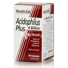 Health Aid ACIDOPHILUS PLUS 4 Billion, 60 caps