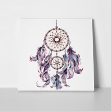 Watercolor bohemian dreamcatcher boho feathers 1101446567 a