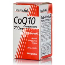 Health Aid CoQ10 200mg, 30caps