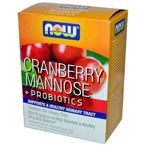 Now foods cranberry mannose   probiotics