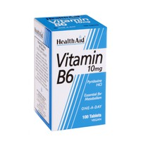 HEALTH AID VITAMIN B6 100MG 90TABL