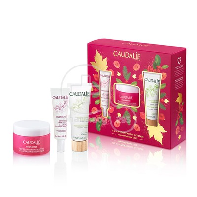 CAUDALIE - PROMO PACK VINOSOURCE Creme SOS Hydration Intense - 50ml PN/S ΜΕ ΔΩΡO VINOSOURCE Serum SOS Désalterant - 10ml & Masque Creme Hydratant - 15ml