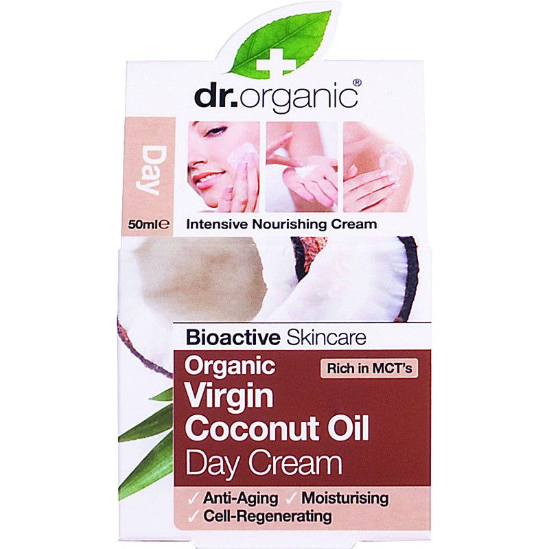 Organic Virgin Coconut Oil Day Cream