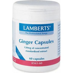 Lamberts Ginger 120mg, 60 κάψουλες