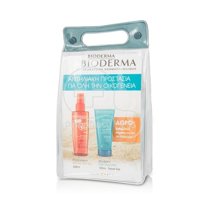 BIODERMA - PROMO PACK PHOTODERM BRONZ Huile Seche SPF50+ - 200ml ΜΕ ΔΩΡΟ ATODERM Gel Douche - 100ml
