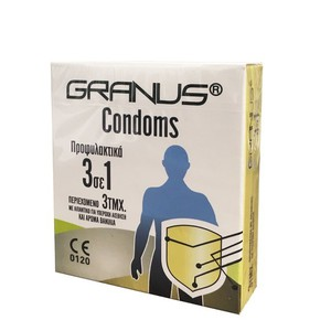 Granus condoms 3in1