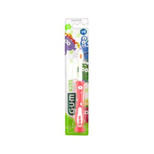 Gum kids toothbrush 3 6 years old 901