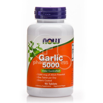 NOW - Garlic 5000 - 90tabs