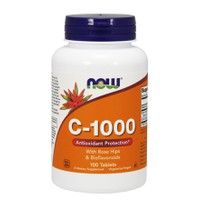 NOW C-1000 (ROSE HIPS&BIOFLAVONOIDS) 100ΤABL