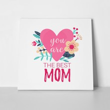 Best mom pink heart flowers 793902970 a