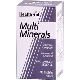 Health Aid multimineral prolonged release tablets 30's