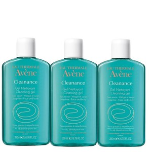 3x avene cleanance gel  3x200ml