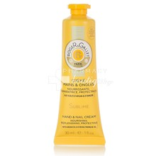 Roger & Gallet Hand & Nail Cream - Sublime SPF15, 30ml