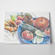 Vegetables drawing 741036202 a