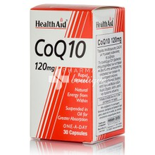 Health Aid CoQ10 120mg, 30caps