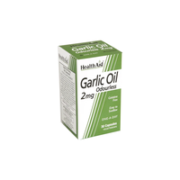 HEALTH AID GARLIC OIL 2MG (ΑΟΣΜΟ) 30VEG. CAPS