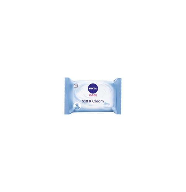 NIVEA BABY SOFT + CARE ΜΩΡΟΜΑΝΤΗΛΑ 20ΤΕΜ