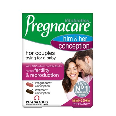 Vitabiotics - Pregnacare Him & Her Conception - 30tabs/30tabs