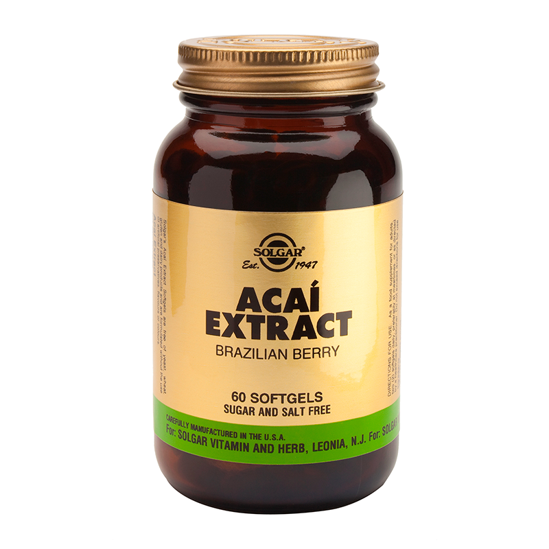 Acai Extract softgels