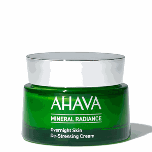 Ahava mineral radiance overnight de stressing cream