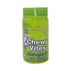 Chewy Vites Jelly Bears Omega 3 + Multivitamin 60 Ζελεδάκια
