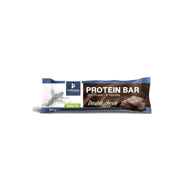MY ELEMENTS SP PROTEIN BAR DOUBLE CHOCO 60GR