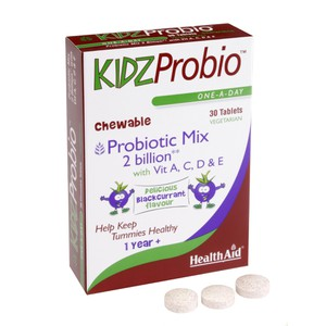 HEALTH AID Kidz probio 30vegeterian tablets