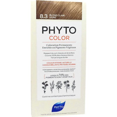 PHYTO PHYTOCOR LIGHT GOLDEN BLONDE 8.3