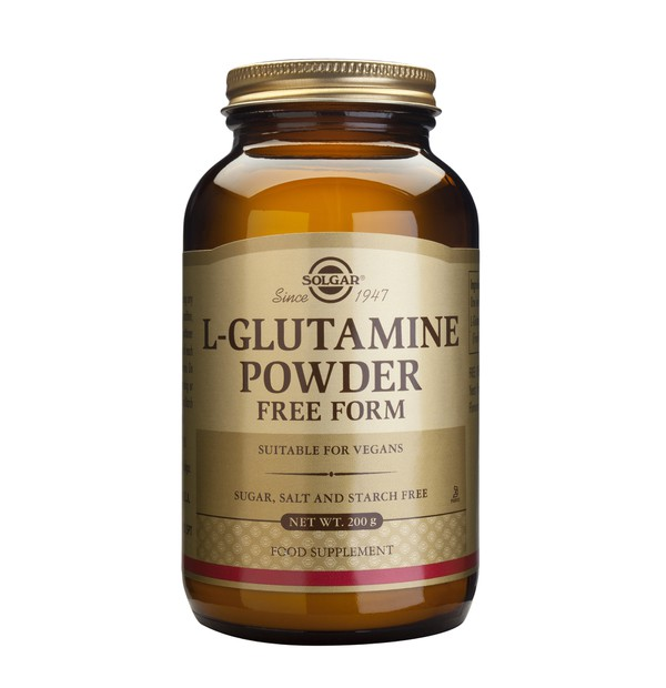 SOLGAR L-GLUTAMIN POWDER 200gr