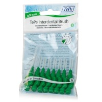TePe Interdental Brush Original Size 5 - 0.8mm Πράσινα 8τμχ